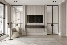 Park Avenue on Behance Home Room Design, Living Room Designs, Living Room Decor, House Design, Home Bedroom, Bedroom Decor, Bedrooms, Appartement Design, Classic Interior