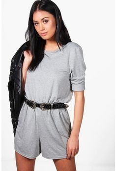 Jumpsuits & Playsuits Sincere Boohoo Pink Playsuit 14 Elegant In Style