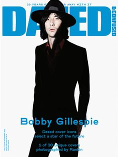 Dazed & Confused Dec 2011 Bobby Gillespie by Rankin