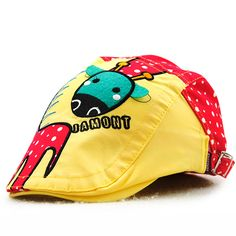 0b0bd024c54 Sale 16% (8.99 ) - Kids Boys Girls Cotton Cartoon Cute Berets Hats