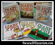 """Diary of a (Fill in the Blank) Book Project - Make it a research project for older kids.  I love reading the original """"Diary of a ..."""" books in classes in which I sub, & I LOVE this idea! Super cute!"""