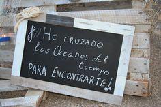 Nuestra decoración de una #boda con temática #nautica en los maravillosos jardines de #TorredeZoco.