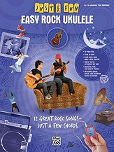Just for Fun: Easy Rock Ukulele...12 Great Songs, Just a Few Chords - Titles: As Tears Go By (The Rolling Stones) * Big Yellow Taxi (Joni Mitchell) * Casey Jones (Grateful Dead) * Gimme Some Lovin' (The Spencer Davis Group) * Gloria (Them) * Good Riddance (Time of Your Life) (Green Day) * A Horse with No Name (America) * Margaritaville (Jimmy Buffett) * Moondance (Van Morrison) * Peaceful Easy Feeling (Eagles) * Take It Easy (Eagles) * Take Me Home, Country Roads (John Denver). #music #ukulele