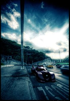 Batmobile.