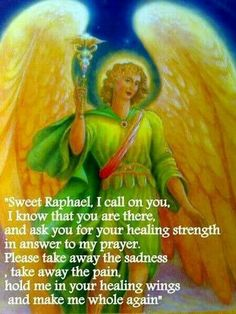 Angels, Spirituality and Pure Energy. The Seventh Angel Book will guide and help you finding your inner-light, peacefulness and methods to communicate with your guardian angels. Angel Protector, Archangel Prayers, Archangel Raphael Prayer, Angel Quotes, Angel Sayings, Angel Guidance, I Believe In Angels, My Guardian Angel, Angel Numbers