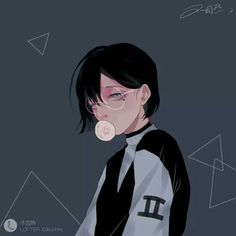 Illustration saved by 「❀hayati」 Anime W, Fanarts Anime, Anime Guys, Anime Characters, Character Illustration, Digital Illustration, Matching Profile Pictures, Character Art, Character Design