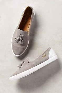 I really want to get these shoes! Kaanas Johannesburg Loafers - anthropologie.com