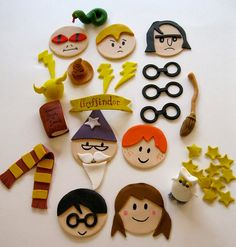 harry-potter-cupcake-toppers.jpg | Flickr - Photo Sharing!