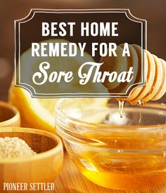 Best Home Remedy for a Sore Throat