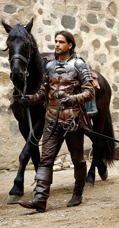 Love this show...and I found my Ren...from Musketeers D'Artagnan