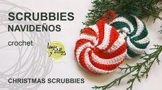 Crochet Dishcloths, Crochet Shawl, Crochet Baby, Baby Patterns, Knitting Patterns, Crochet Ornaments, Crochet Videos, Holiday Crafts, Diy And Crafts