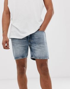 CHEAP MONDAY SONIC DENIM SHORTS - BLUE. #cheapmonday #cloth Cheap Monday, Denim Shorts, Mens Fashion, Blue, Moda Masculina, Male Fashion, Fashion For Men, Men Fashion, Men's Fashion