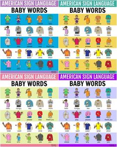 Baby Sign Language Basics, Sign Language Songs, Sign Language For Toddlers, Simple Sign Language, Baby Asl, Asl Signs, American Sign Language, Speech Therapy Activities, Bsl