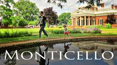 Our trip to Monticello in Virgina to learn all about Thomas Jefferson too!  Day in the life family travel adventures.  #family #momlife #travelingwithtoddlers