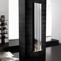 Vertical radiators come in all styles & sizes! Choose from small or tall radiators, flat panel, tube or vertical column radiators. Hallway Decorating, Radiators Modern, Cool Things To Buy, Modern, Modern Bathroom, Back To Wall Toilets, Shower Cabin, Vertical Radiators, Chrome