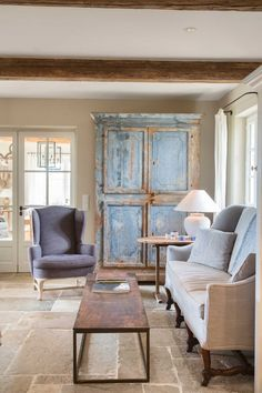 Luther Vandross, Barn Living, Living Rooms, Home Design, Interior Design, Magical Home, Rustic Room, Flagstone, French Country Style