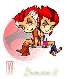 Lil Wily Kit & Wily Kat - Thundercats - lordmesa.deviantart.com