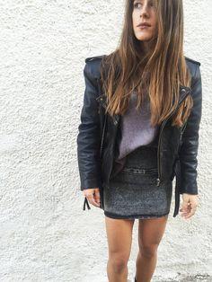 backnforth | Grunge Attitude Attitude, Leather Skirt, Grunge, Sequin Skirt, Sequins, Skirts, Fashion, Moda, Skirt