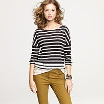 oh my heart stripes and mustard pants