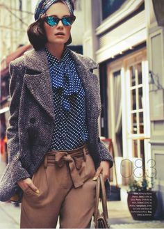 Thrift Inspiration - Can I find this outfit. I bet I can! In the lower right all items are sourced and priced. I know I can find this for under $40.