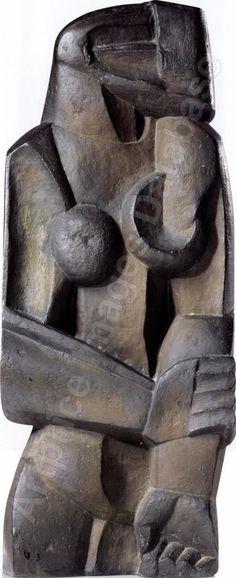 Ossip Zadkine, Russian sculptor, 1880-1967