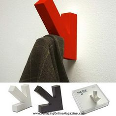 Top 10 Creative Coat Hooks From Various Designers