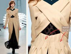 Excellent website for Dressmaking. Fundamentals of Pattern Making: Waist Tucks - The Cutting Class