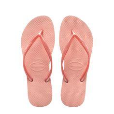 663eda7e31f Havaianas Slim Pink Flip Flops Size 6