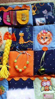 The Cat's Meow Fidget Blanket