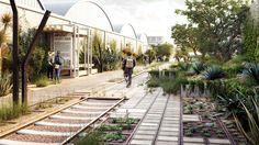 Galería de Conoce el segundo lugar del concurso Parque Lineal Ferrocarril de Cuernavaca en Ciudad de México - 4