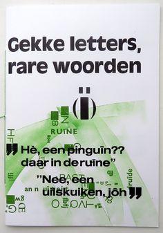 Formaat 22.5 x 16 cm | Oplage 25 | over vergeten letters in de drukkerij | boekdruk | Zerkall 250 grams | 2019 zwaluw LXXI € 22