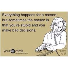 "Exactly Stop justifying your bad decisions as it happening for a ""reason""  Idiots"