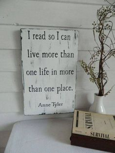 More than one life in more than one place!