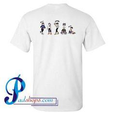 Shinee World V 5 In Seoul 2016 Concert T Shirt Back – padshops
