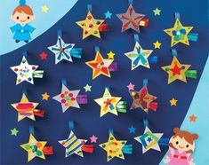 Star Festival, Tanabata, July Crafts, Kids And Parenting, Garland, Birthday Gifts, Origami, Year Anniversary Gifts, Birthday Favors
