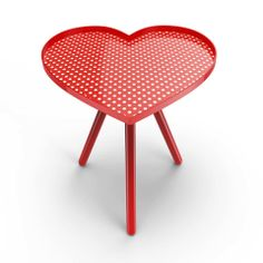 I so love this!!!!! Maybe in my dream home? #polkadots #red