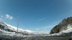 Drive to the Japanese Alps