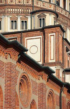 Details, Santa Maria delle Grazie, Milan, Italy
