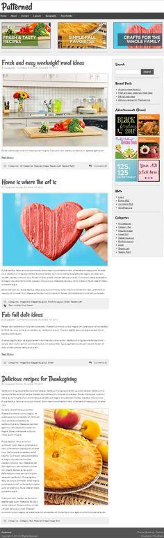 new blog style premium WordPress child theme