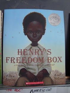 Teaching about the civil war.  A slave was shipped north from Richmond in a box on a train...true story: The Unboxing of Henry Brown.