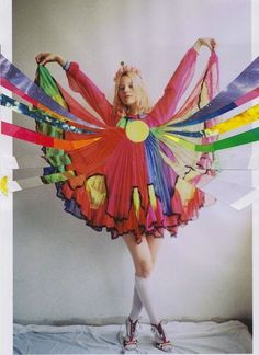 INSPIRATION :Rookiemag / Creature Fear / Just a batch of delight, this one / Dress by Meadham Kirchhoff Rookie Magazine, Circus Fashion, Meadham Kirchhoff, Textiles, How To Pose, Vintage Sweaters, Just In Case, Fashion Photography, Color Photography
