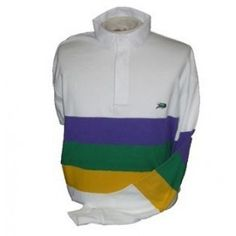 Youth Mardi Gras Chest Stripe Rugby