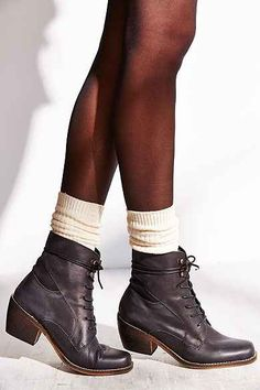 Sixtyseven Felicity Lace-Up Ankle Boot- urban outfitters