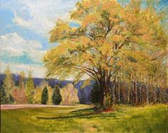 Spring in the Hills by Dot Courson Oil ~ 24 x 30