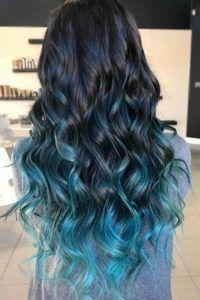 9 melhor ideia de Ombré Hair Colorido | cabelos tingidos, cabelos pintados,  cores de cabelo