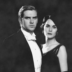 Mary and Matthew, Downton TV Series.