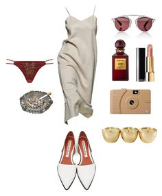 """""""Rouge"""" by astrro on Polyvore featuring Acne Studios, Agent Provocateur, Poketo, Tom Ford, Christian Dior, women's clothing, women's fashion, women, female and woman"""