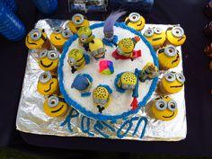 Minions cake 8 birthday Ramon's Party