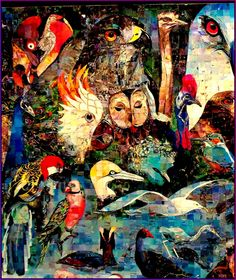 La passion  selon Saint PIAF. (détail) Par Samuel SLADOW. ( La Colpagenèse )