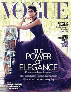 Shweta Nanda – Vogue India November 2012